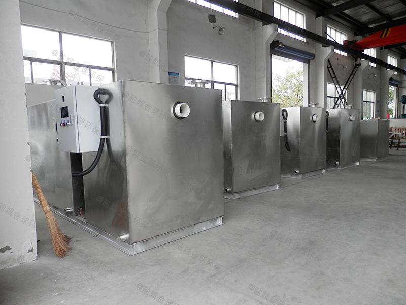 黄冈厨房微型厨房下水隔油池作法