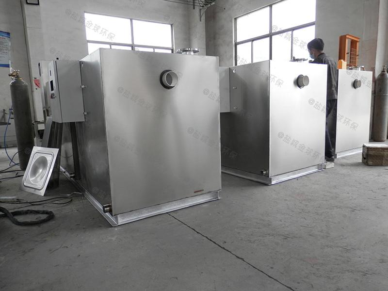 十堰汽浮型餐饮自动厨房下水油水分离装置污水池