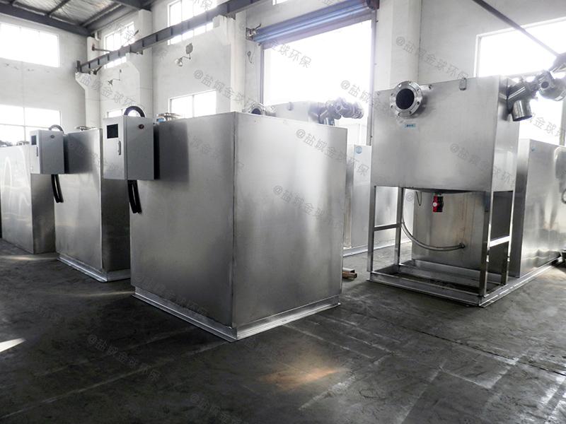 湖北餐饮企业下水除渣隔油提升一体化装置监督部门