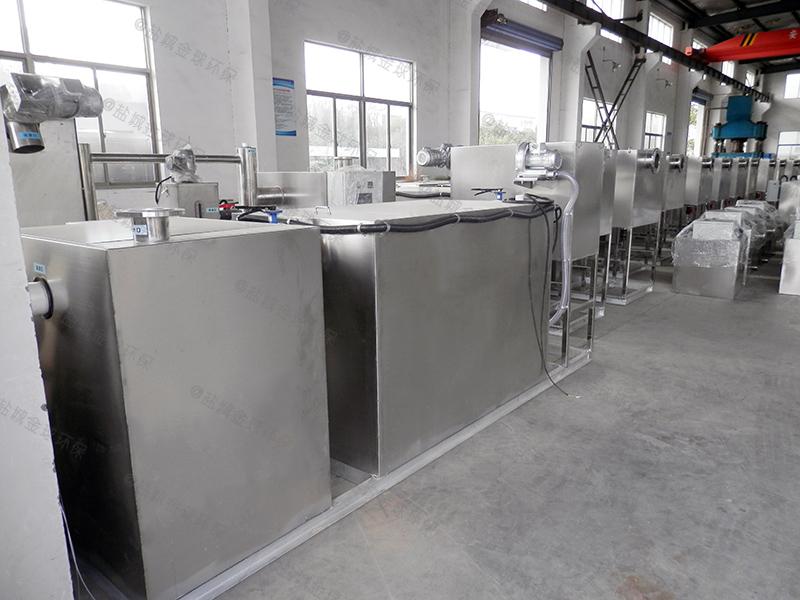 咸宁店铺油水分离器提升设备单价