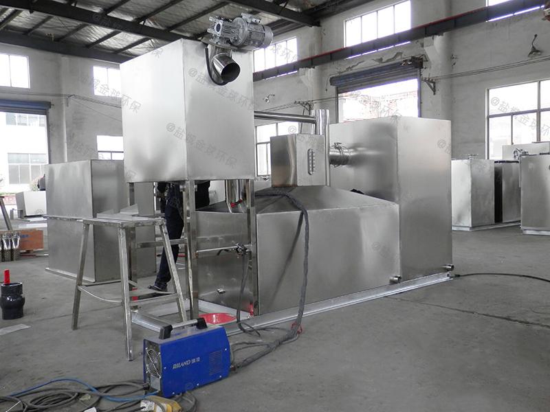荆州电加热式厨房下水隔油器油渣