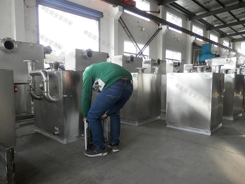 鄂州厨房下水道下水除渣隔油提升装置的负荷如何计算