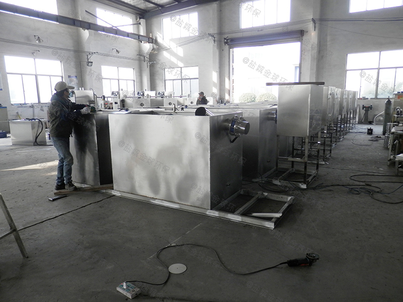 襄阳歺馆油水分离提升一体设备的材质