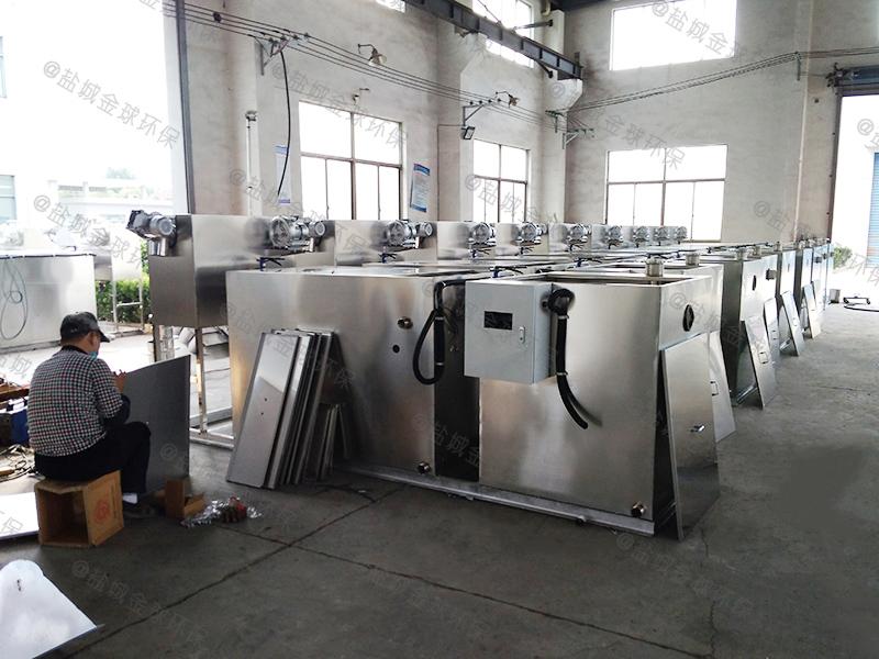 十堰旋流板式厨房下水隔油器选用