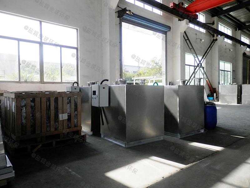 武汉灶台食堂下水道油水分离器价格如何