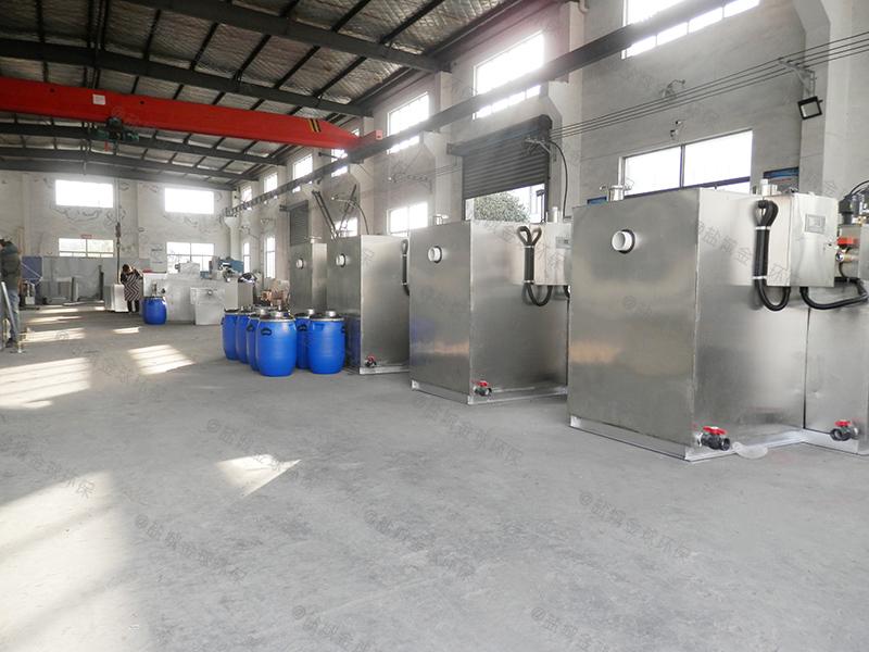 咸宁二次下水除渣隔油提升一体化装置安全