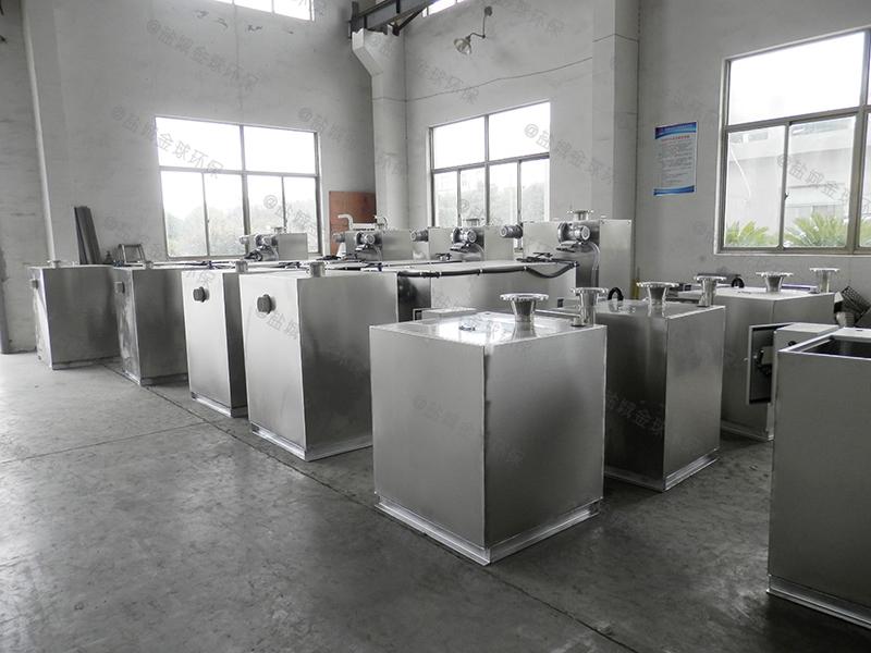 武汉螺旋厨房下水隔油器有效容积