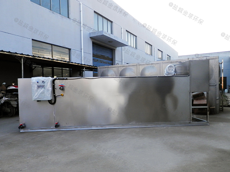 武汉餐饮店下水除渣隔油提升装置除油效率