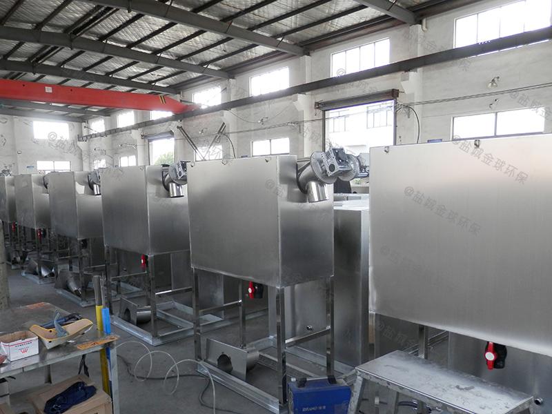 十堰采购厨房下水除渣隔油提升一体化设备供货商