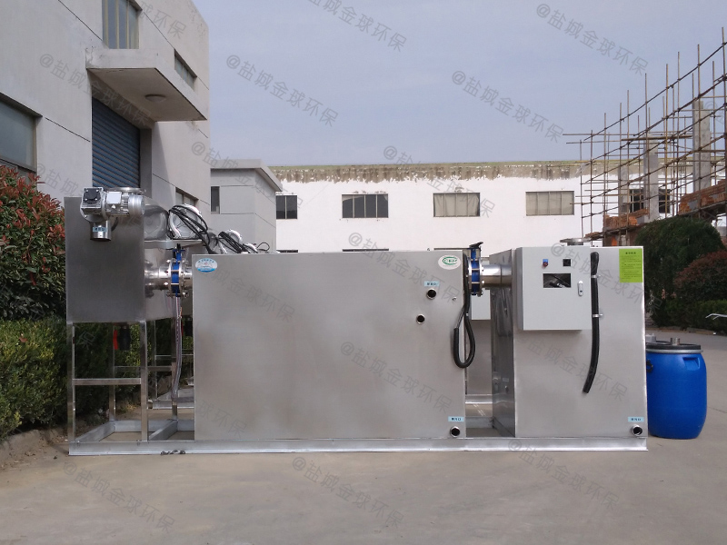 襄阳厨房用小型下水道除渣隔油提升装置自动刮油