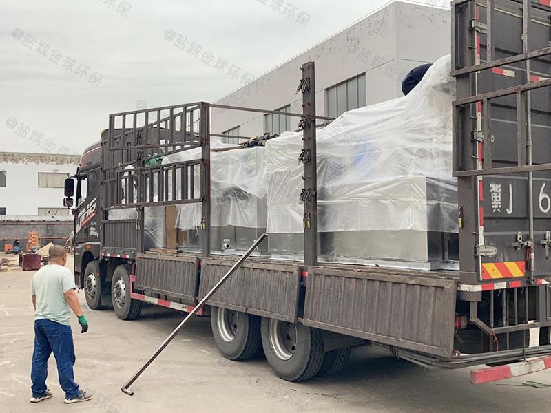 宜昌地下型厨房下水除渣隔油提升设备协议