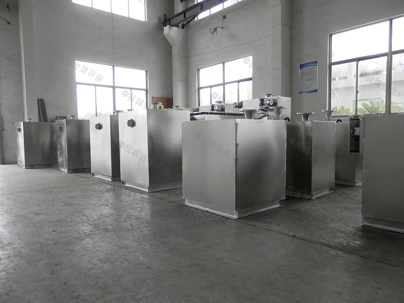 黄石商用厨房厨房下水除渣隔油提升设备怎么选