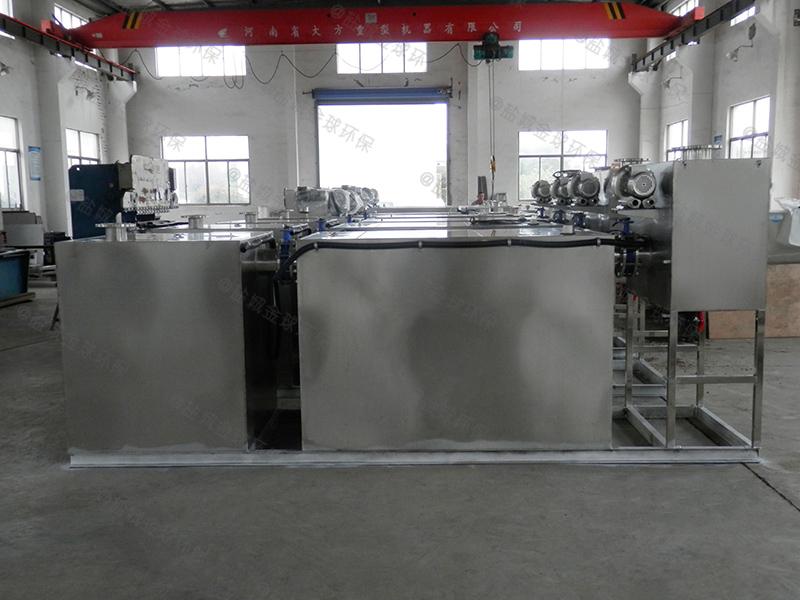 恩施饭店厨房厨房下水除渣隔油提升设备相关法规