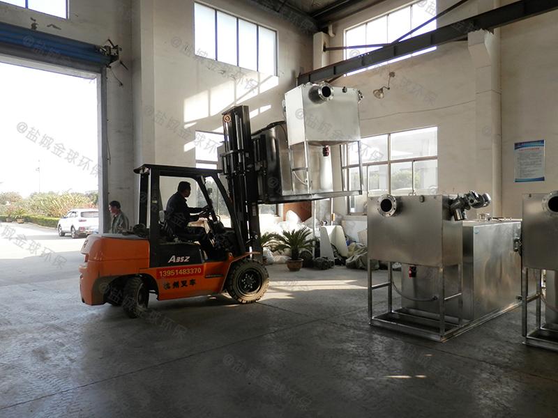 恩施工地食堂简易油水分离处理设备安全