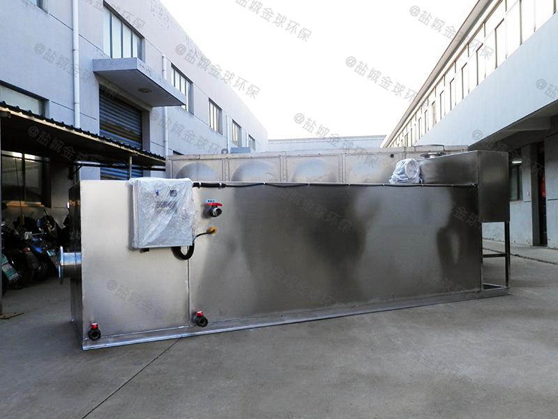 宜昌餐饮企业下水除渣隔油提升装置防水