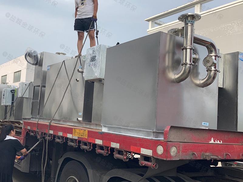 黄冈小型饭店厨房下水油水分离装置公司官网