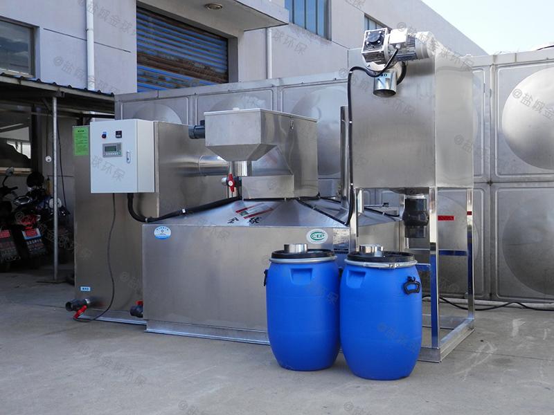 荆州优质厨房下水除渣隔油提升装置标准