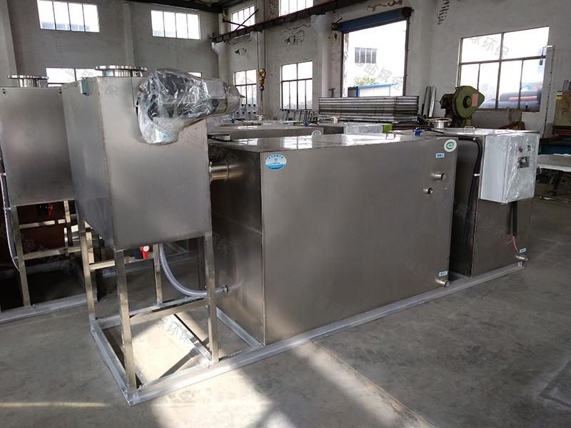 襄阳螺旋下水道隔油提升装置标准做法