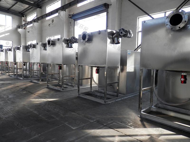 黄冈废水下水除渣隔油提升一体化装置处理检验批次
