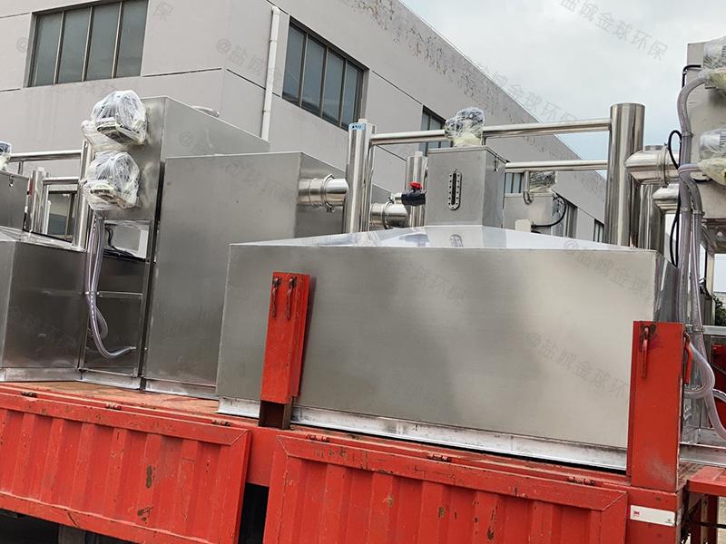 襄阳厨房自动下水道除渣隔油提升设备有效容积