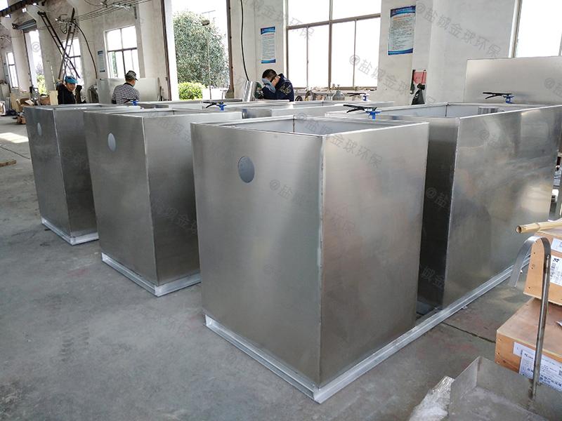 武汉污水的厨房下水隔油池型号大全