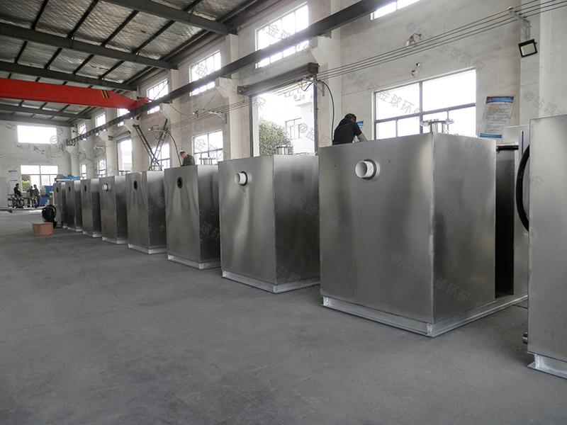 十堰专业的厨房下水除渣隔油提升一体化设备哪有的卖