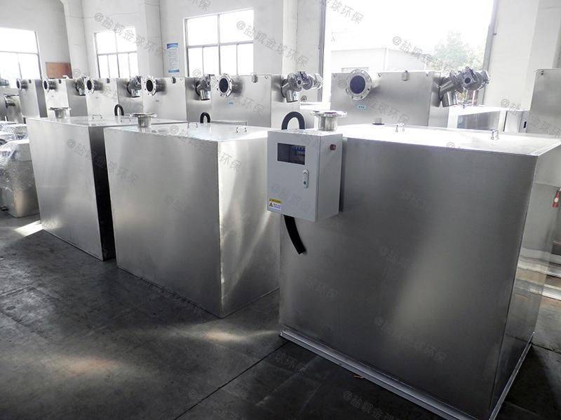 咸宁店铺油水分离污水处理设备cad下载