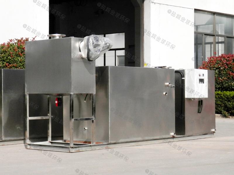 十堰曝气气浮法厨房下水除渣隔油提升一体化装置企业