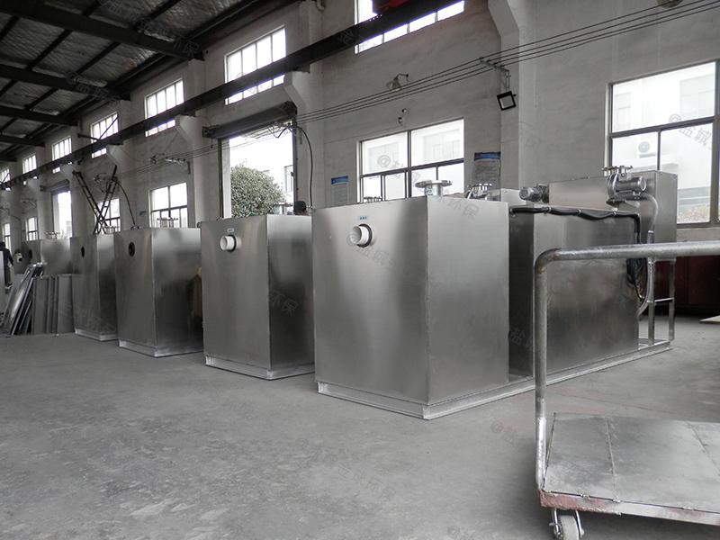 咸宁小饭店专用厨房下水隔油器项目