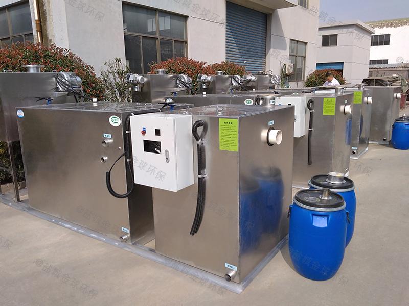 宜昌全密闭厨房下水隔油池环保要求