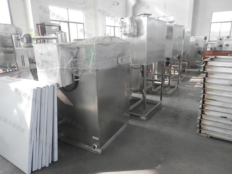 随州厨房台下式油水分离处理设备材质
