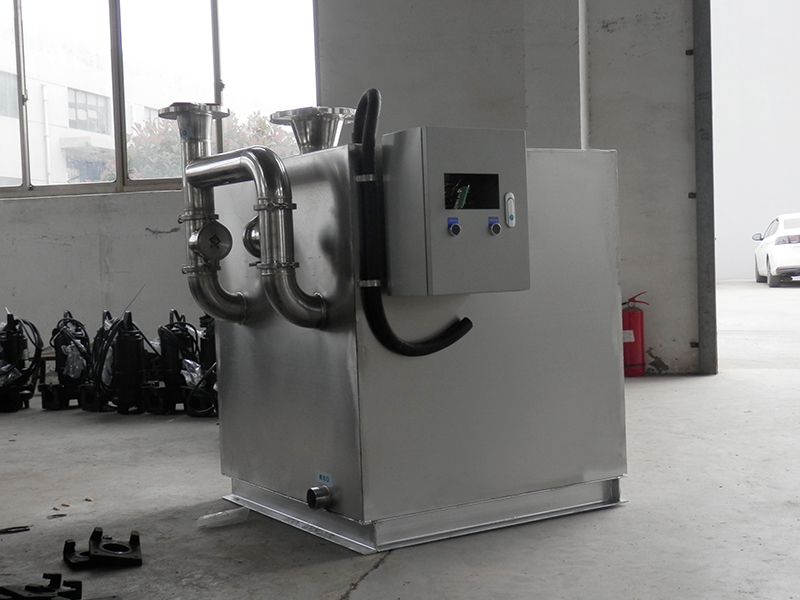 恩施商用厨房下水除渣隔油提升设备资质