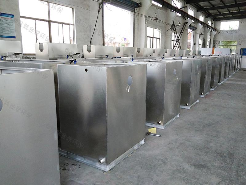 鄂州汽浮型餐饮自动厨房下水油水分离器图片价格
