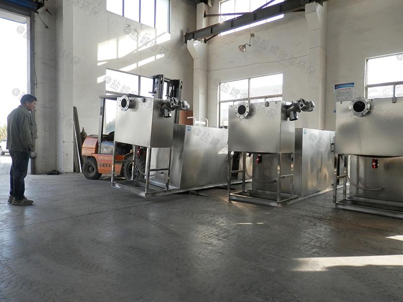 恩施厨房下水道油水分离器提升设备大小计算