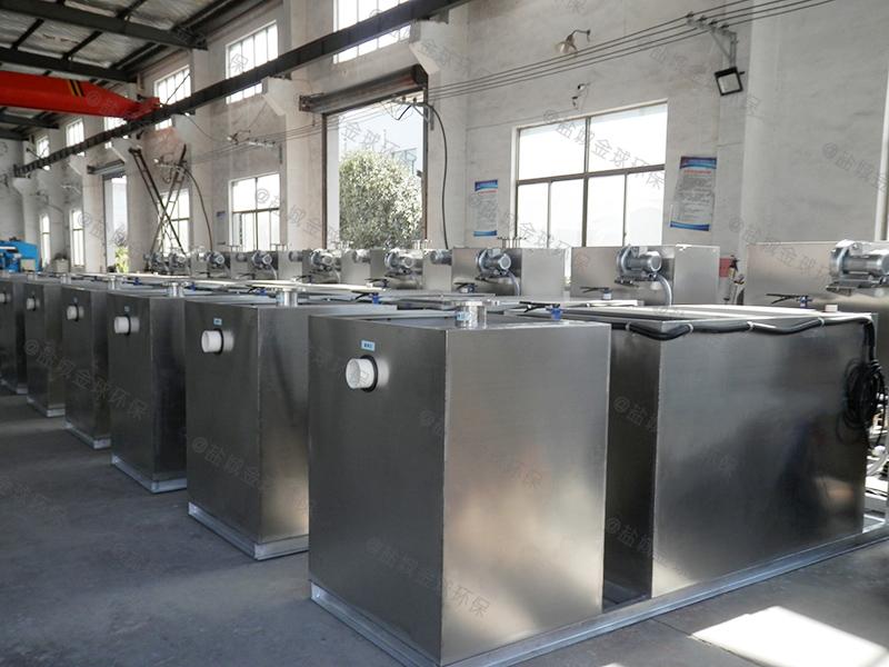 黄石餐厅饭店食堂下水道油水分离设备批发市场
