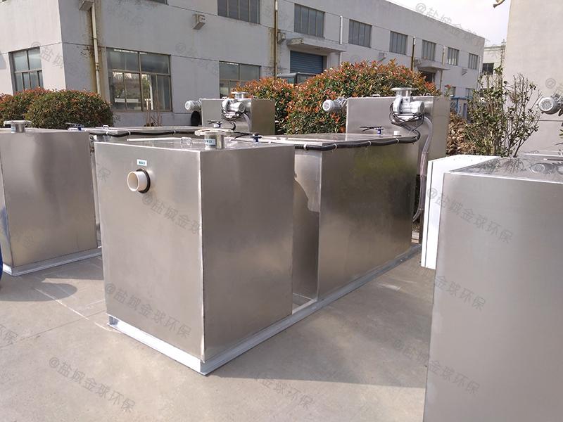 荆门老火锅厨房下水油水分离装置怎么装
