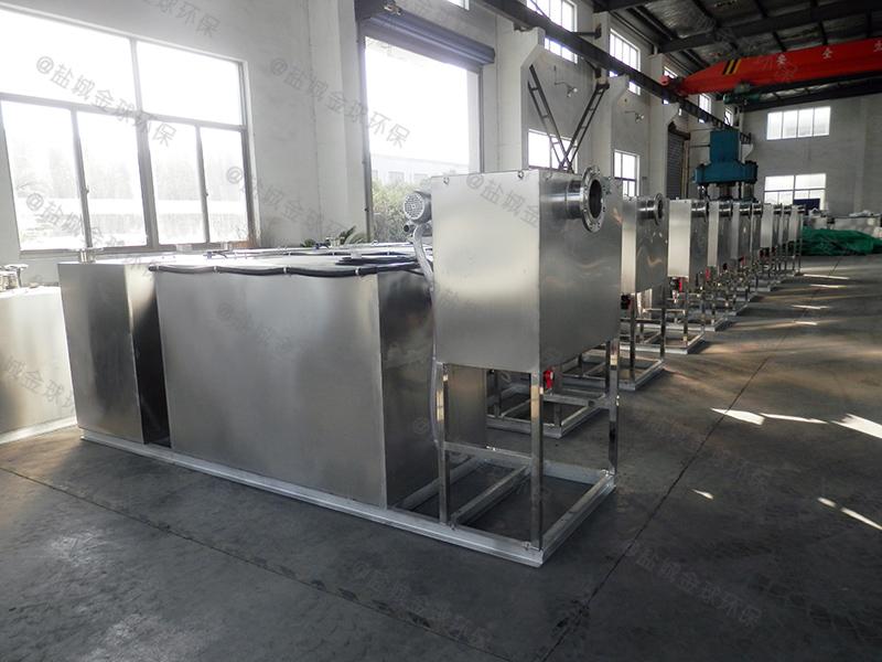 荆门餐饮店油水分离处理设备制作
