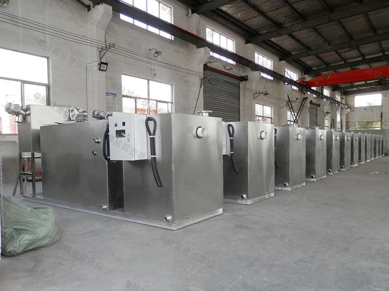 黄石购买厨房下水除渣隔油提升一体化设备企业