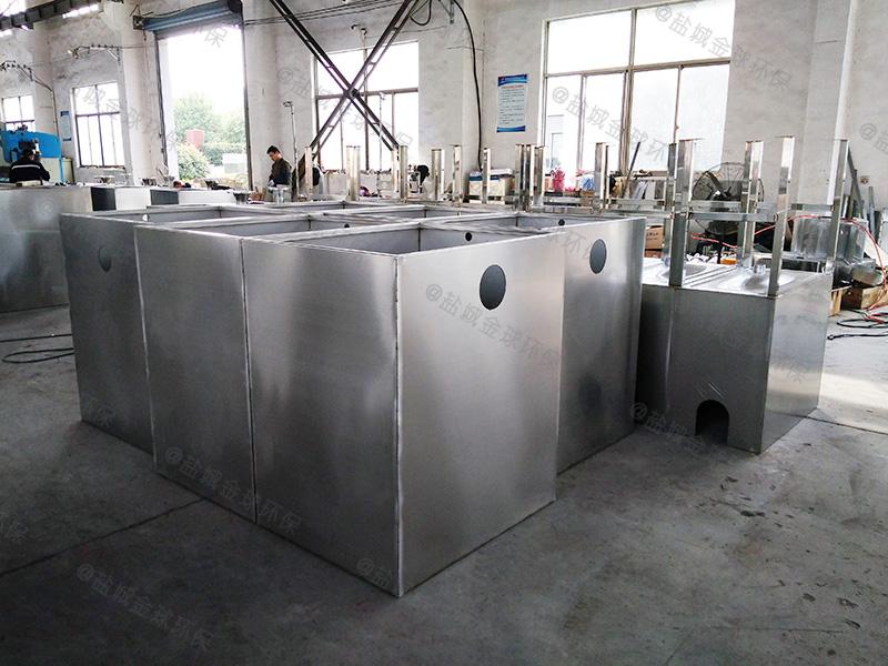 武汉厨房水槽下厨房下水除渣隔油提升设备选择