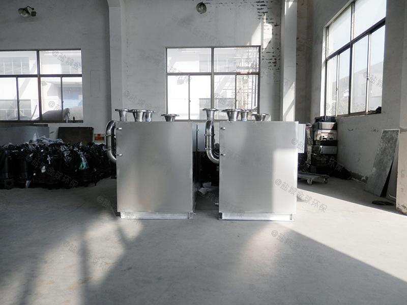 随州厨房小型下水除渣隔油提升装置材料
