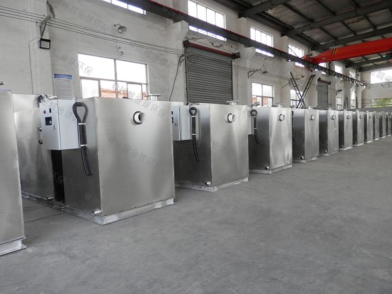 黄冈厨房设备下水隔油提升设备标准