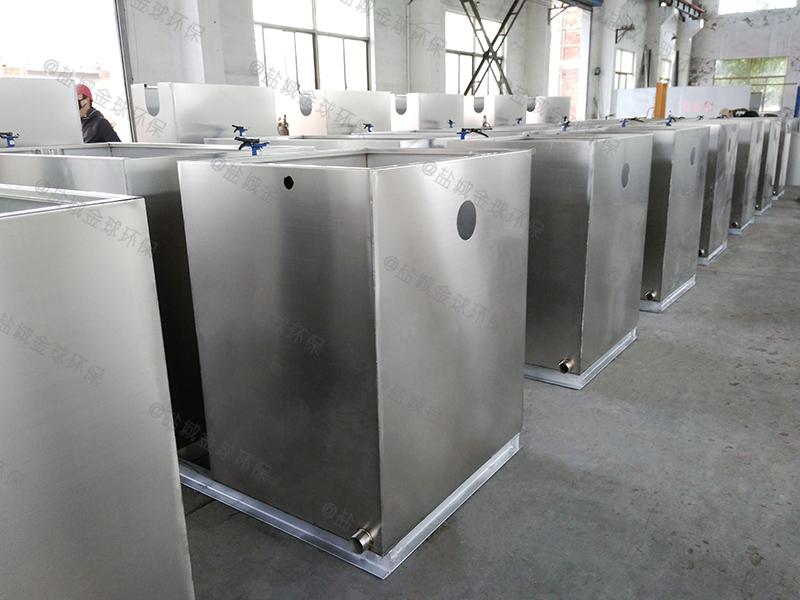 宜昌全自动餐饮厨房下水除渣隔油提升设备型号大全