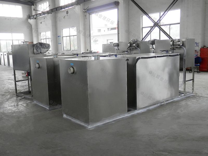 宜昌饭店小下水道除渣隔油提升一体化设备一般多大