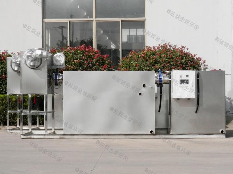 随州旋流气浮厨房下水除渣隔油提升一体化装置官网