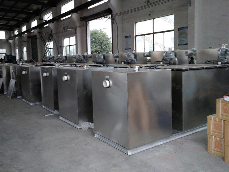 十堰自制厨房下水除渣隔油提升一体化装置价格如何