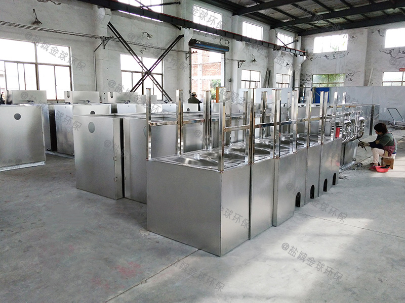 十堰餐饮环保下水道除渣隔油提升一体化装置行业