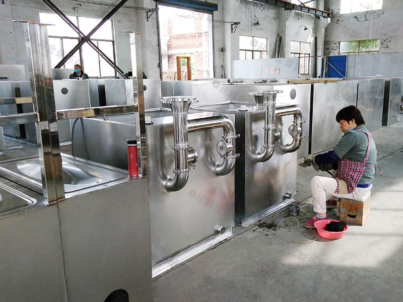 武汉饭店厨房用厨房下水隔油池电加热